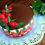 "Торт ""клубника и шоколад""\xA0."