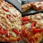 Итальянское тесто для пиццы.