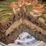 Королевский торт.  Ингредиенты: