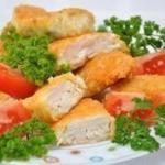 Домашний макдоналдс - куриные наггетсы.