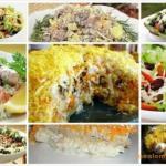 Топ - 10 самых быстрых салатов!