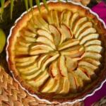 Французский яблочный тарт.