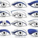 Стрелки для глаз с опущенными уголками. Как рисовать стрелки для разных видов глаз.