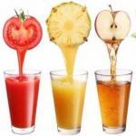 12 оздоровительных напитков на основе соков!