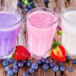5 самых вкусных молочных коктейлей.