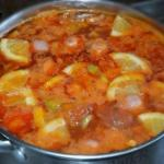 Суп - солянка.  Ингредиенты: