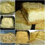 Неимоверный тортик!   Нежное, рассыпчатое песочное тесто, сладкая творожная начинка.