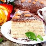 Сметанный торт на сковороде.
