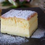 Пирог из заварного крема.