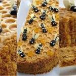 "Торт ""Пчелка"".  Ингредиенты:"