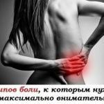 5 типов боли, к которым нужно быть максимально внимательным!