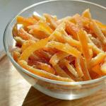 Апельсиновые цукаты.  Себе вкусный рецепт сохрани?