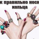На какой палец кольцо надевается?