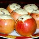 Печеные яблоки. Очень вкусный и полезный, низкокалорийный десерт.