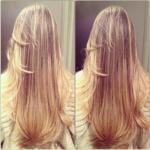 Сильные и длинные волосы.