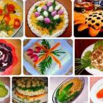 Топ 10 самых вкусных и красивых салатов к 8 марта?
