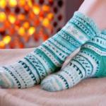 Держи ноги в тепле.
