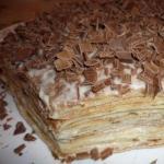 Нежнейший блинный тортик.