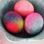 Идеи для окрашивания пасхальных яиц.