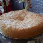Кокосовый пирог.  Готовится очень просто, а вкус бесподобный.