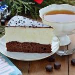 Торт - суфле на Брауни.