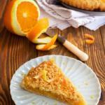 Постный апельсиновый пирог.