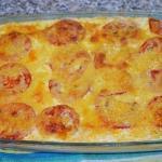 Запеканка из кабачков с фаршем и помидорами - обладенно вкусное блюдо для тонкой талии.