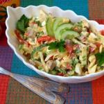 """Салат """"Бахор"""".   Предлагаю вам рецепт вкусного, освежающего салата """"Бахор"""" из узбекской кухни."""