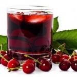 Эликсир долголетия.Только недавно ученые пришли к выводу, что вишневый сок - эликсир жизни.